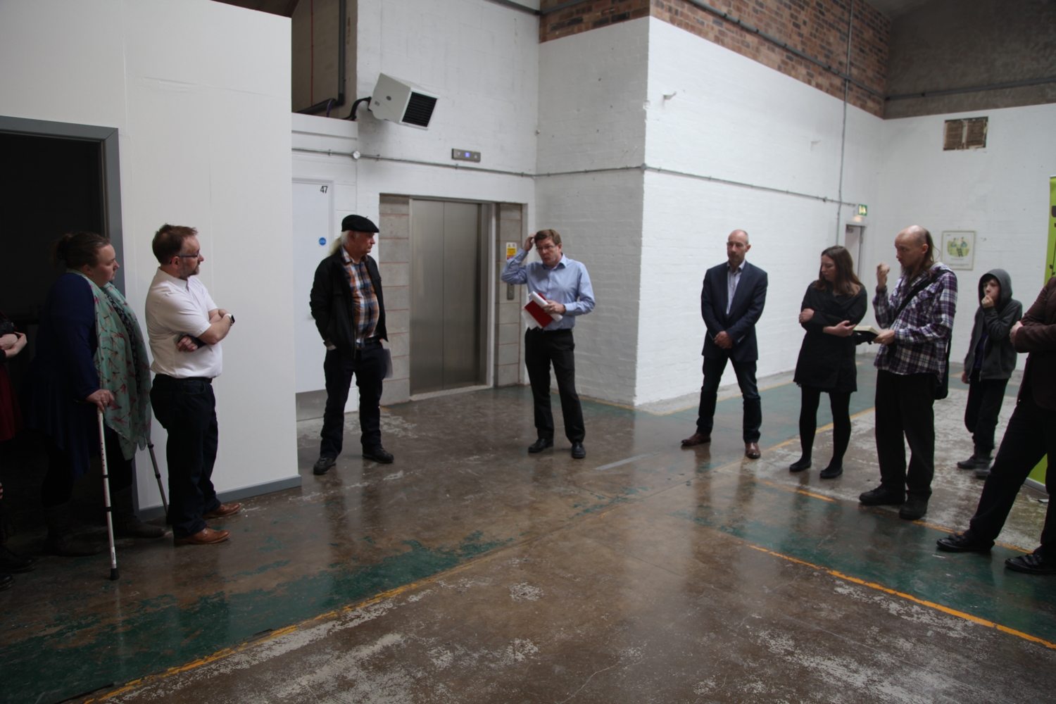 Acava Studios Spode Works: Studios Interior With Visitors