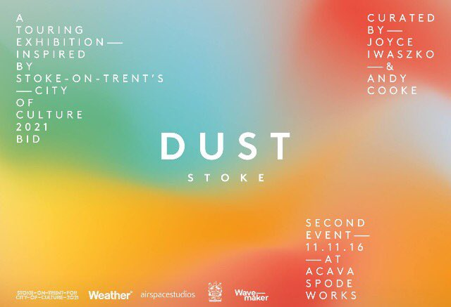 Dust exhibition Stoke